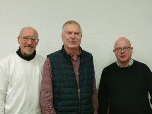 Foto der drei Neugewählten